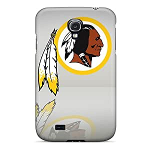 Shock-Absorbing Hard Cell-phone Cases For Samsung Galaxy S4 With Provide Private Custom High-definition Washington Redskins Series MarcClements