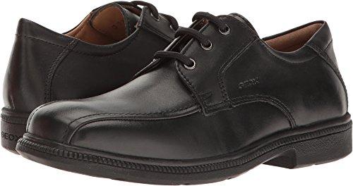 Geox Boys' Federico 3 School Uniform Shoe, Black, 32 M EU Little Kid (1 (Italian Leather Dress Shoes)