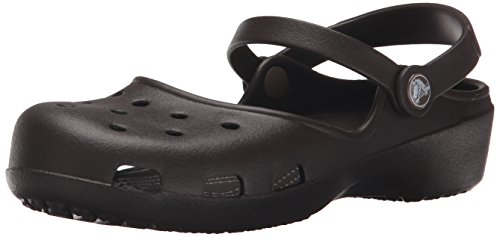 crocs Women's Karin Clog, Espresso, 8 M US by Crocs