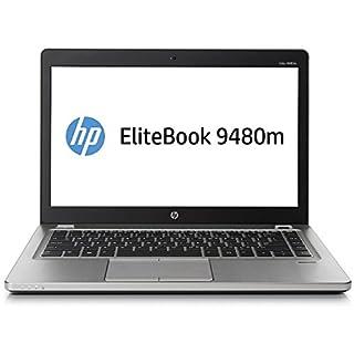 HP EliteBook Folio 9480M 14in Intel Core i7-4600U 2.1GHz 8GB 128GB SSD Windows 10 Professional (Renewed)