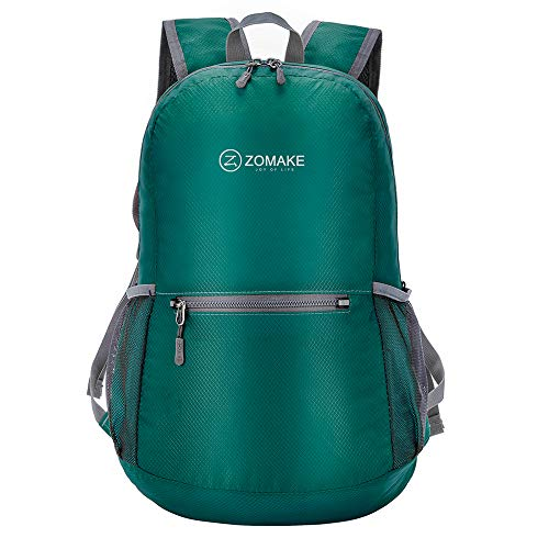 ZOMAKE Ultra Lightweight Packable Backpack Water Resistant Hiking Daypack,Small...