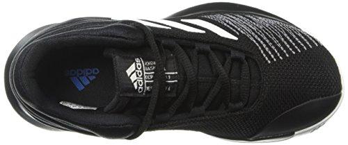 adidas Unisex Pro Spark 2018 Basketball Shoe, Black/White/Grey, 2.5 M US Little Kid by adidas (Image #11)