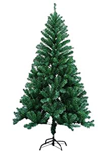 1.5m green christmas tree without decoration