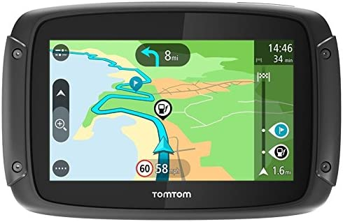 Tomtom Gps Moto Rider Kartenbild Und Traffic Lebenslang Navigation