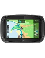 TomTom RIDER 420 - GPS Moto - Cartographie Europe 48, Trafic, Zones de Danger à Vie et Appel Mains-Libres