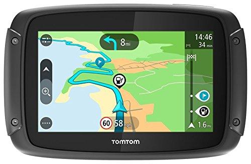 TomTom RIDER 420 - GPS Moto - Cartographie Europe 48, Trafic, Zones de Danger à Vie et Appel Mains-Libres product image