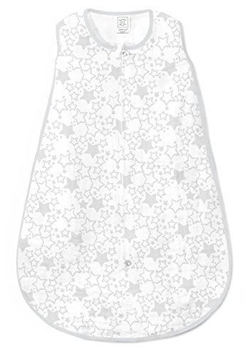 SwaddleDesigns Cotton Sleeping Sterling Starshine