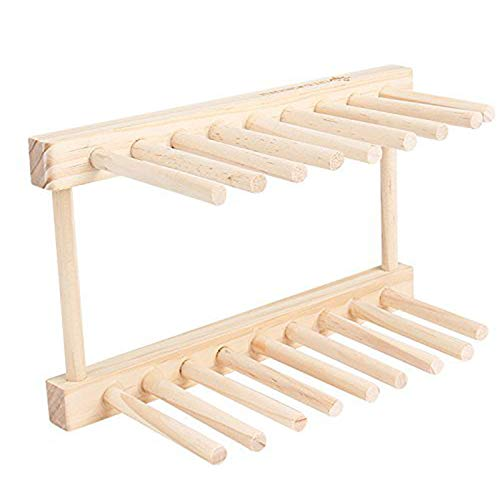 Tolyneil - Escurreplatos de madera de pino 375ea84cc48f