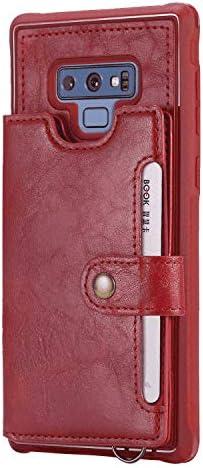 iPhone 11 Pro Max レザー ケース, 手帳型 アイフォン 11 Pro Max 本革 全面保護 ビジネス 財布 カバー収納 スマートフォンケース 無料付スマホ防水ポーチIPX8