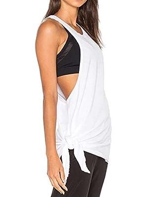 Haola Women's Summer Sleeveless Long Tank Tops Cute Shirts Girls Vest