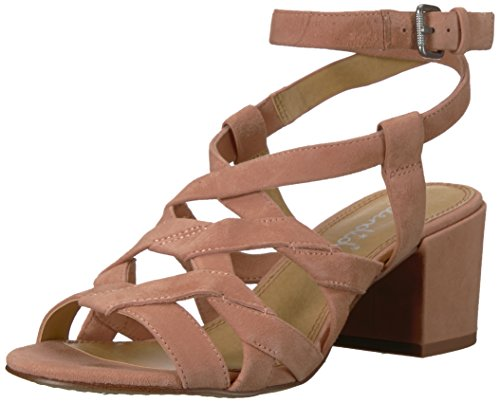 (Splendid Women's Barrymore Heeled Sandal, Dark Blush, 10 Medium US)