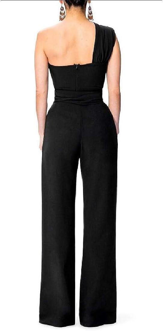 GAGA Womens One Piece Jumpsuits Romper Deep V Neck Long Sleeve Jumpsuit Clubwear