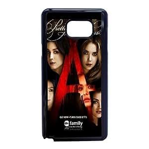 Bastante caso de la nota 5 del teléfono celular pequeño G7Q8Vj Funda Samsung Galaxy Funda Negro Caso Y7I4XT Teléfono funda 3D DIY