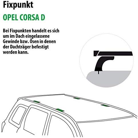 Rameder Komplettsatz Dachträger Tema Für Opel Corsa D 118852 05598 1 Auto