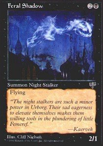 (Magic: the Gathering - Feral Shadow - Mirage by Magic: the Gathering)