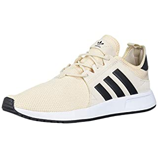 adidas Originals Men's X_PLR Hiking Shoe, Linen/core Black/FTWR White, 4 M US
