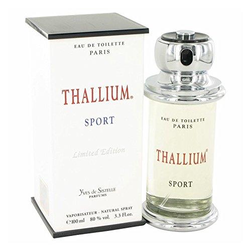 Thallium Sport by Parfums Jacques Evard Eau De Toilette Spray (Limited Edition) 3.4 oz ()
