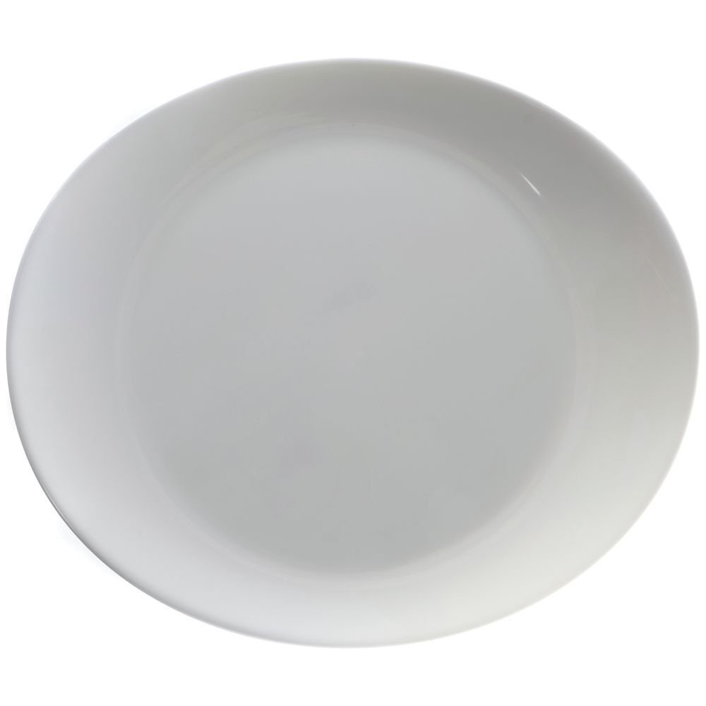 Cardinal G9144 Arcoroc Intensity 11.75'' Steak Plate - 12 / CS