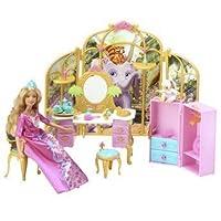 Barbie como la princesa Rosella Castle Suite con Tallulah and Friends Toy Playset