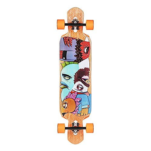Riviera Word to The Wise Complete Skateboard, 9.5