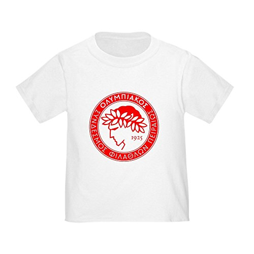 fan products of CafePress - Olympiacos T-Shirt - Cute Toddler T-Shirt, 100% Cotton