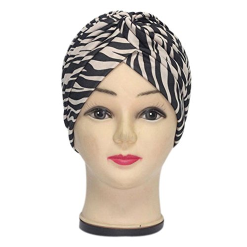 Oksale Pleated Stretchable Polyester Headwear