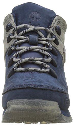 Timberland Kids Euro Sprint Hiker Chukka Boots, Blau (Black Iris), 31 EU