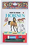 How to Draw Horses Kid Kit, Lucy Smith, 1580863590