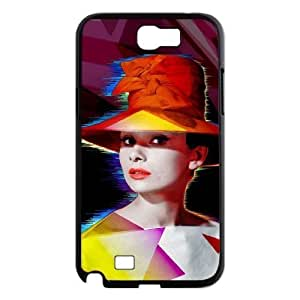 Audrey Hepburn Use Your Own Image Phone Samsung Galasy S3 I9300 ,customized case cover ygtg-786069