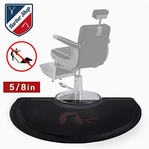 Anti Fatigue Mat Salon Mats For Hair Stylist 3 Foot. x 5 Foot.Barber Shop Beauty Comfort Salon Chair Mat Floor Semi Circle 5/8 Inch (1)