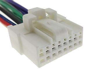 panasonic car radio cable radio adapter jack iso lead amazon co panasonic 1 car radio cable radio adapter jack iso lead wiring harness