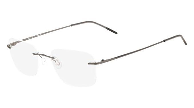 Eyeglasses MARCHON AIRLOCK AL WISDOM 033 SATIN GUNMETAL at Amazon ...