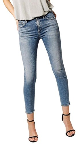 Citizens of Humanity Rocket Crop High Rise Skinny in Pacifica Jeans $208 - NWT (Regular 32 in.)