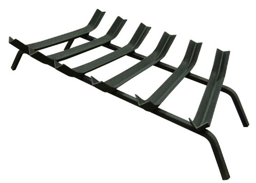 Landmann USA 85306 Wide Bar Fireplace Grate, 30-Inch (Grate Landmann)