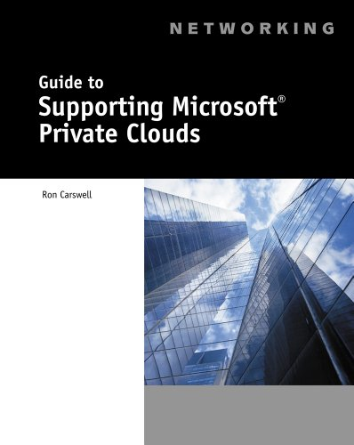 Guide to Supporting Microsoft Private Clouds ('001) Pdf