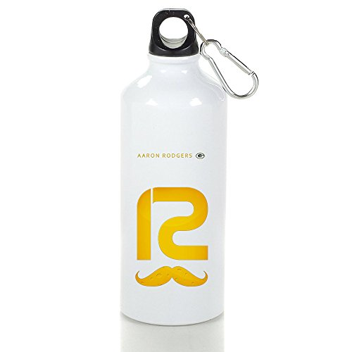 aluminum-gb-packers-aaron-rodgers-12-mustache-sports-water-bottle