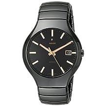 Rado Men's R27857172 True Analog Display Swiss Automatic Black Watch