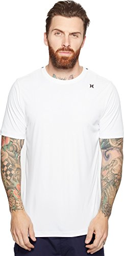 Hurley Men's Dri-Fit Icon Surf Shirt White Shirt