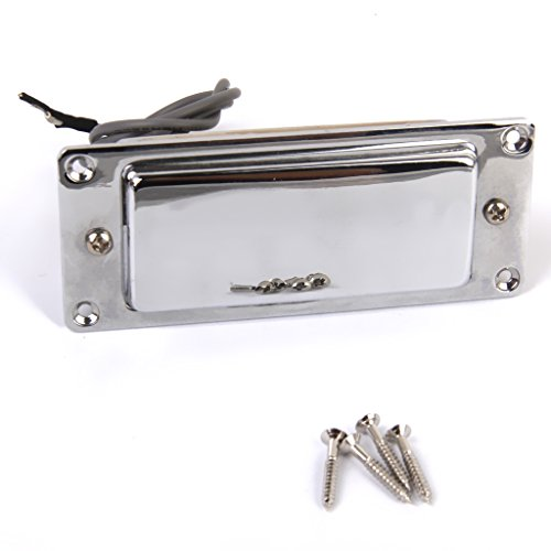 Echo Organ - Sealed Pickup Humbucker for LP Guitar, Mini Guitar, Echo Organ, Cigar Box Guitar- Chrome