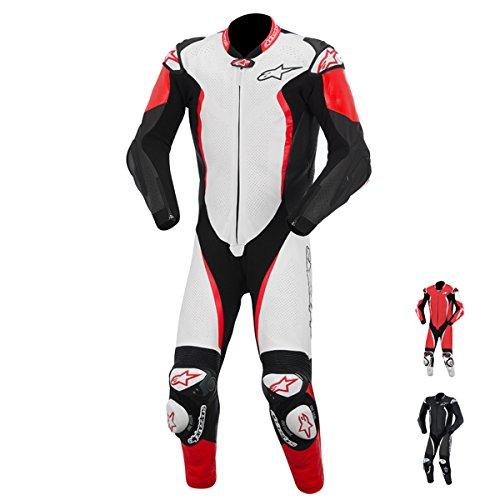Alpinestars GP Tech Leather One-Piece Suit (WHITE/BLACK/RED)