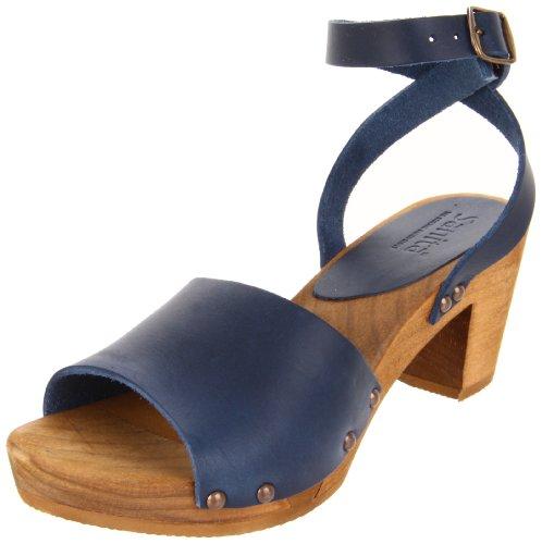 Sandali Sanita Yara Square Flex Donna Cinturino Alla Caviglia Blu (blu 5)