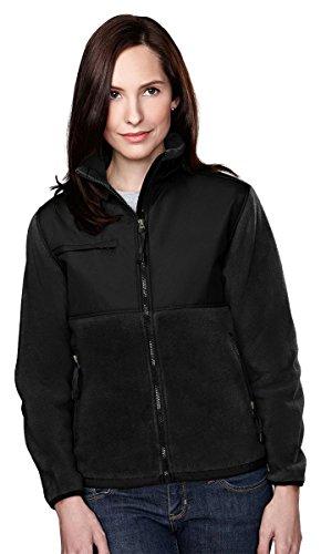 tri-mountain-womens-panda-fleece-jacket-with-nylon-paneling-7420-black-black-s