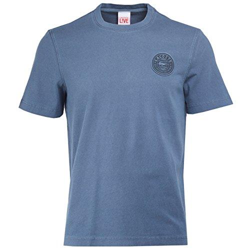 Homme M T shirt Charbon medium Live1 Lacoste waXtPP