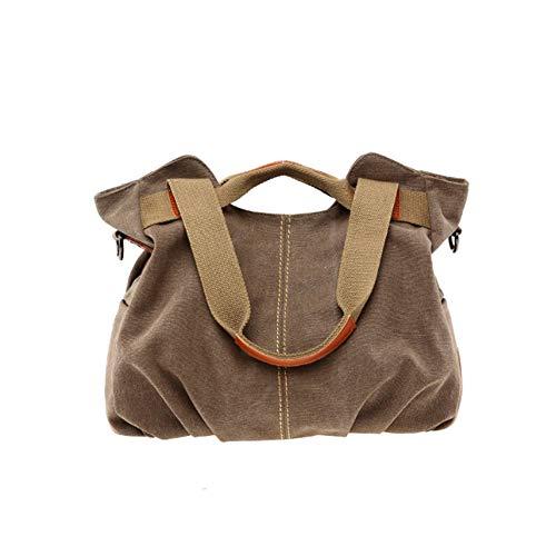 D Tela Borsa F Donna Shopping Bag Tracolla A Casual YJIUJIU Borsa Di Retrò Da Borsa Messenger 0Zqxn6d