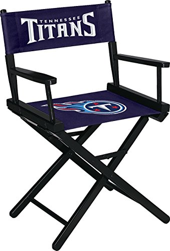 Licensed NFL Furniture: Directors Chair (Short, Table Height), Tennessee Titans ()