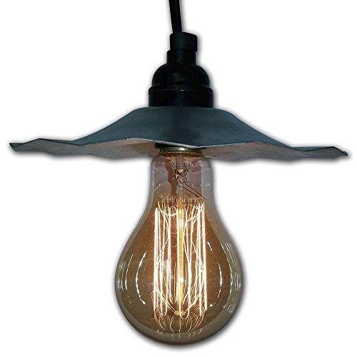 Galvanized Pendant Light Shades - 7