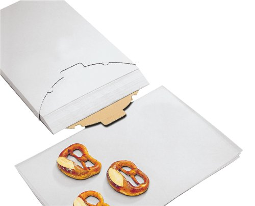 Parchment Paper, Non-stick Coated (Quillon Parchment), 16 inch x 24 inch (Fits on 18 inch x 26 inch Sheet Pan) Case Of 1000