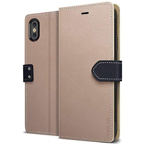 Obliq iPhone 10 Case Three Interior Card Slots - Mud Gray -  OBIPXK1-03