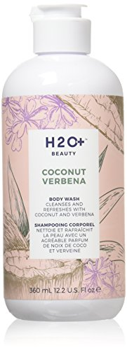 H2O+ Beauty Body Wash, Coconut Verbena, Cleansing and Refreshing, 12.2 Ounce