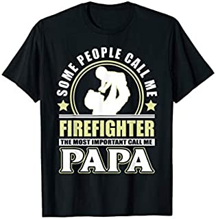 ⭐️⭐️⭐️ Mens Proud Firefighter Father Grandpa  Father's Day Gift Need Funny Short/Long Sleeve Shirt/Hoodie